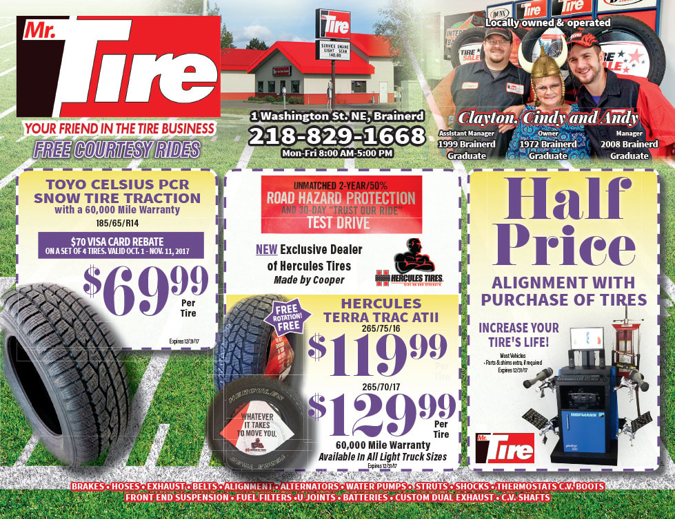 Mr. Tire We-Prints Plus Newspaper Insert by Any Door Marketing