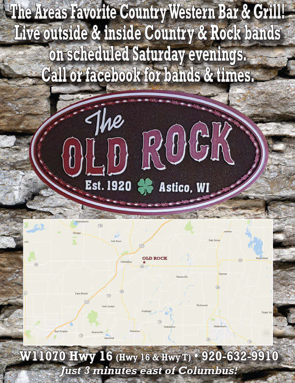 The Old Rock We-Prints Plus Newspaper Insert by Any Door Marketing