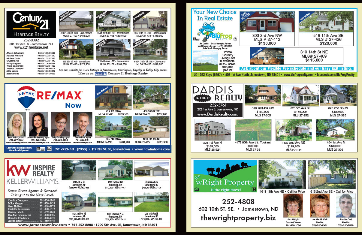 Century 21 Real Estate We-Prints Plus Newspaper Insert by Any Door Marketing