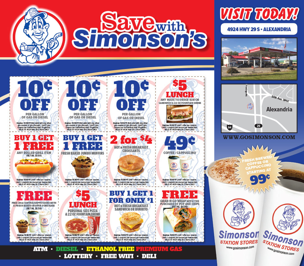 Simonson Station Store Any Door Direct Mail Piece by Any Door Marketing