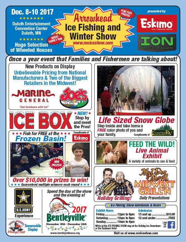 Arrowhead Ice Show We-Prints Plus Newspaper Insert printed by Any Door Marketing