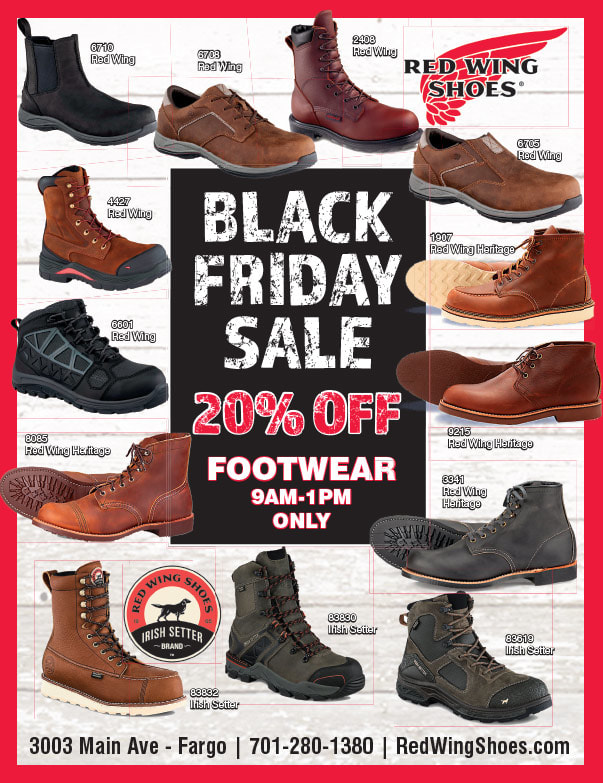 Red Wing Shoes We-Prints Plus Newspaper Insert printed by Any Door Marketing