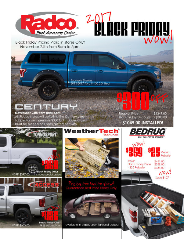 Radco Truck Accessory Center We-Prints Plus Newspaper Insert by Any Door Marketing