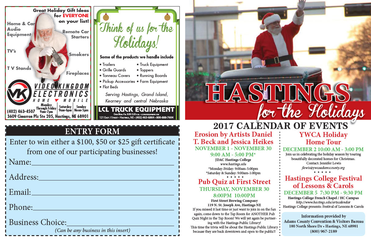 Hastings Shop Local We-Prints Plus Newspaper Insert printed by Any Door Marketing