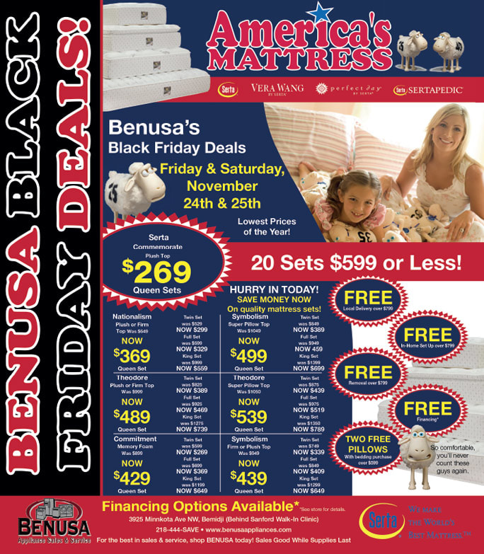 Benusa We-Prints Plus Newspaper Insert printed by Any Door Marketing