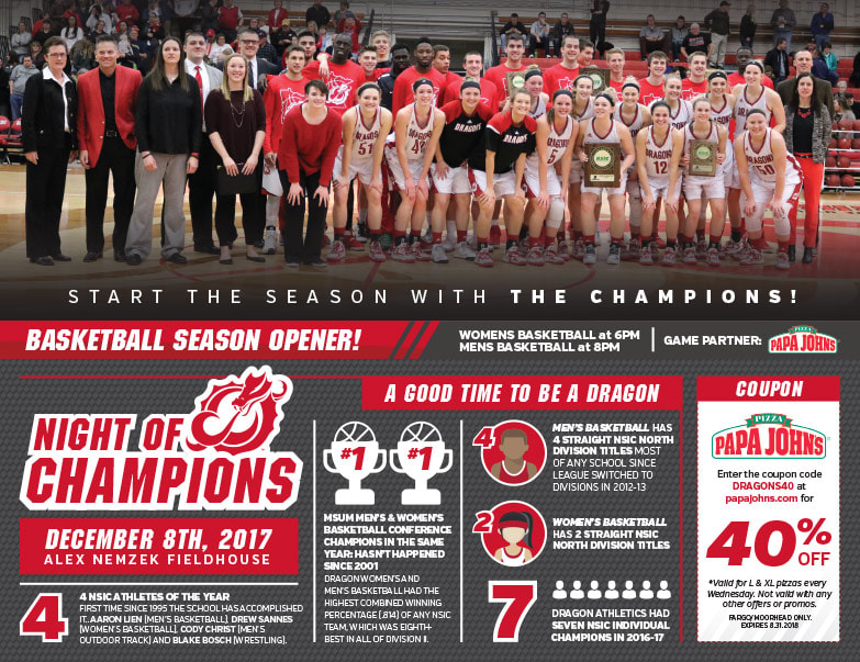 MSUM Basketball We-Prints Plus Newspaper Insert by Any Door Marketing