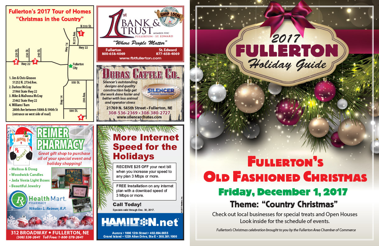 Fullerton Shop Local We-Prints Plus Newspaper Insert printed by Any Door Marketing