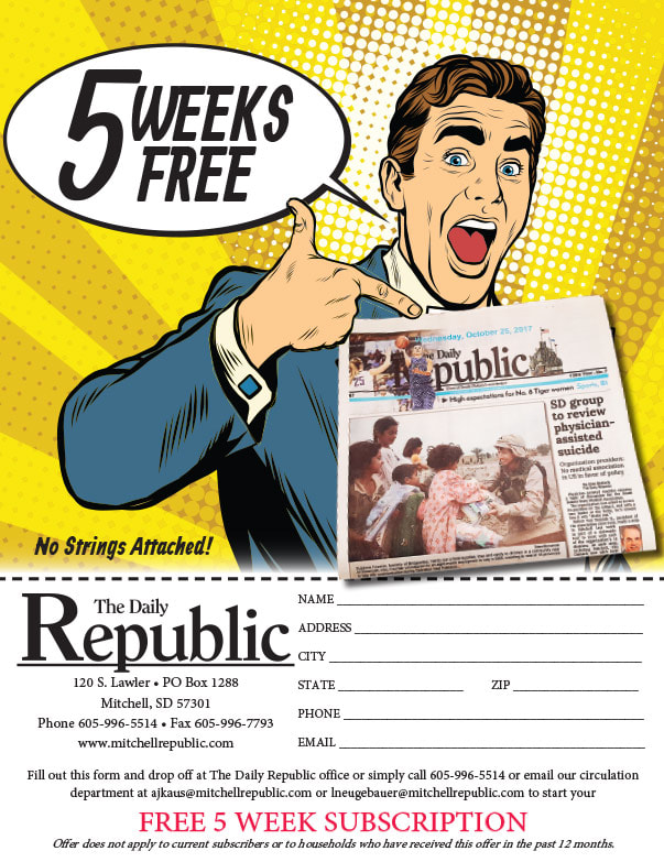 The Daily Republic We-Prints Plus Newspaper Insert printed by Any Door Marketing