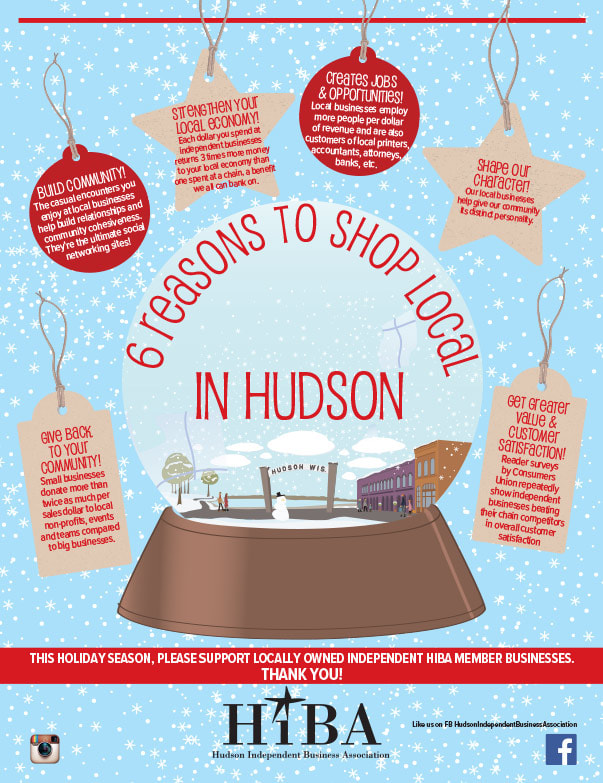 Hudson Shop Local We-Prints Plus Newspaper Insert by Any Door Marketing