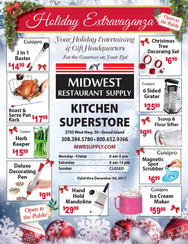 Midwest Restaurant Supply We-Prints Plus Newspaper Insert by Any Door Marketing