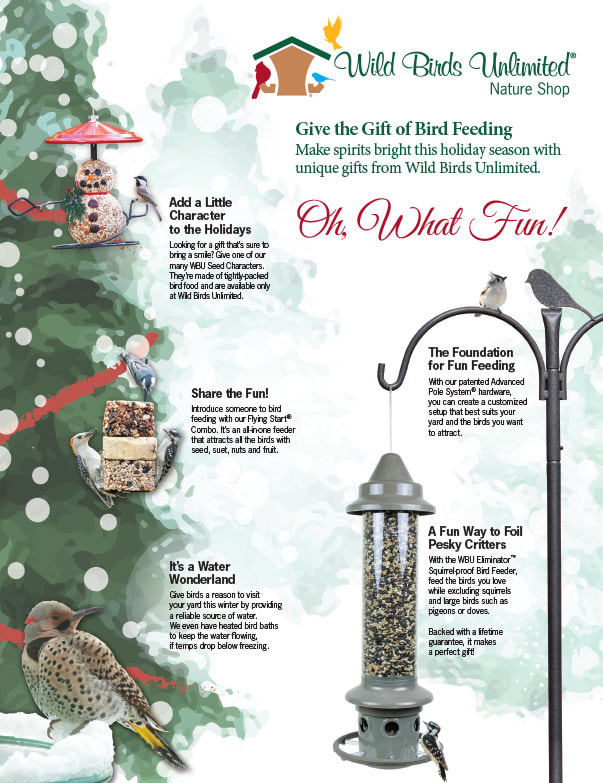 Wild Birds Unlimited We-Prints Plus Newspaper Insert by Any Door Marketing