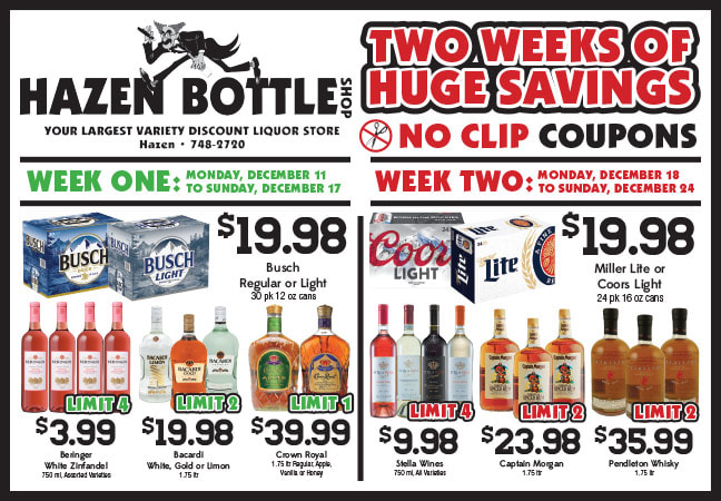 Hazen Bottle Shop Any Door Direct Mail by Any Door Marketing