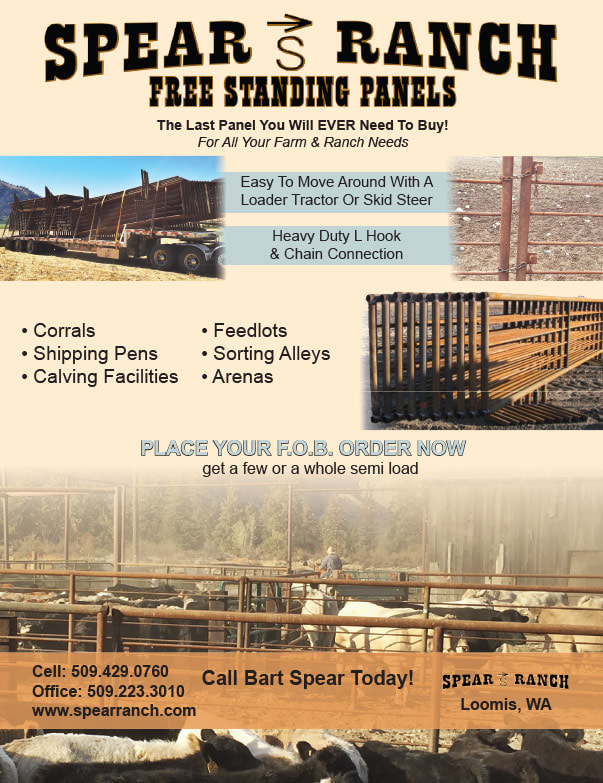 Spear Ranch Free Standing Panels We-Prints Plus Newspaper Insert brought to you by Any Door Marketing