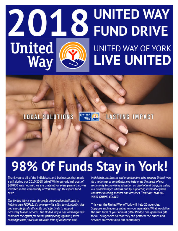 United Way We-Prints Newspaper Insert brought to you by Any Door Marketing