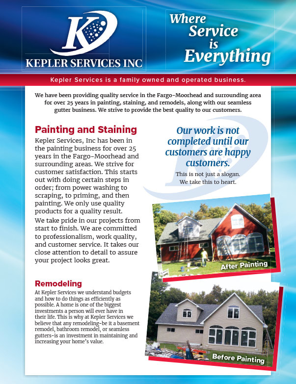 Kepler Services Inc We-Prints Plus Newspaper Insert brought to you by Any Door Marketing