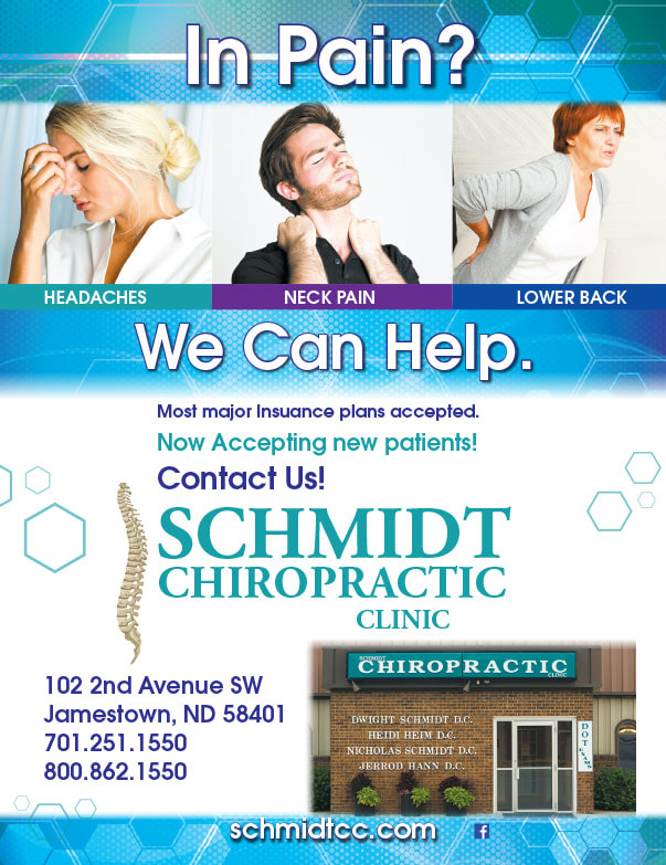 Schmidt Chiropractic Clinic We-Prints Plus Newspaper Insert brought to you by Any Door Marketing