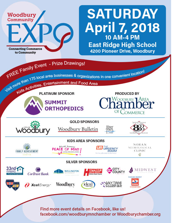 Woodbury Community Expo We-Prints Plus Newspaper insert brought to you by Any Door Marketing