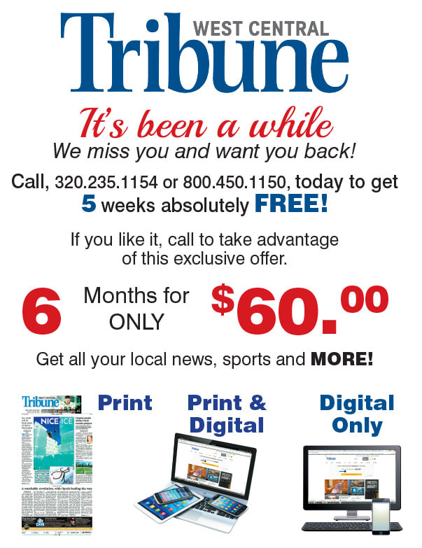 West Central Tribune We-Prints Plus Newspaper Insert brought to you by Any Door Marketing