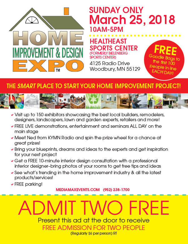 Woodbury Home Improvement Expo We-Prints Plus Newspaper Insert printed by Any Door Marketing