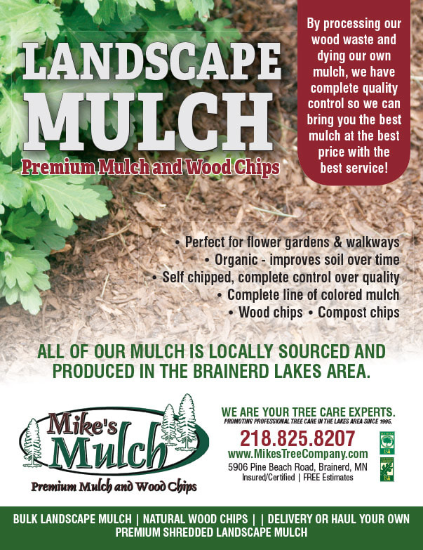 Mike's Mulch We-Prints Plus Newspaper Insert brought to you by Any Door Marketing