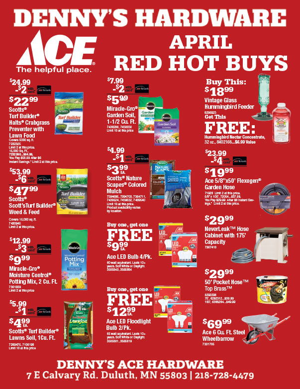 Ace Hardware We-Prints Plus Newspaper insert brought to you by Any Door Marketing