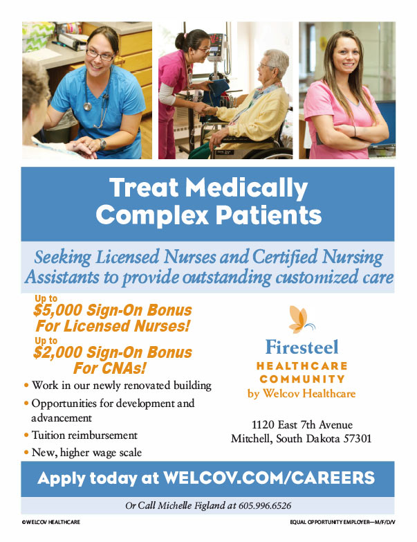Firesteel Healthcare Community We-Prints Plus Newspaper insert brought to you by Any Door Marketing