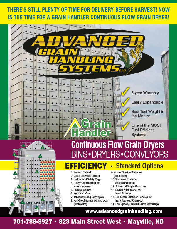 Advanced Grain Handling Systems We-Prints Plus Newspaper Insert brought to you by Any Door Marketing