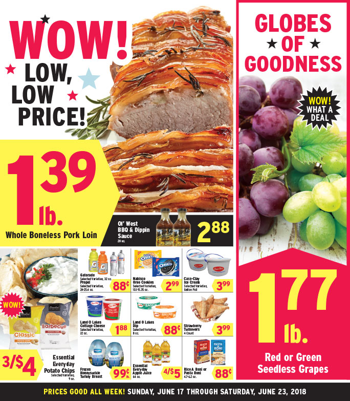Kessler's Grocery We-Prints Plus Newspaper Insert brought to you by Any Door Marketing