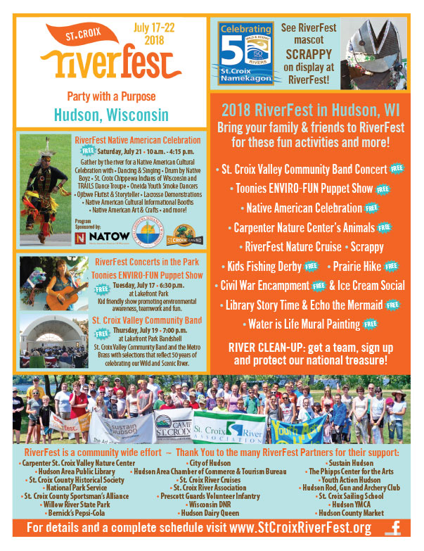 St. Criox Riverfest We-Prints Plus Newspaper Insert brought to you by Any Door Marketing