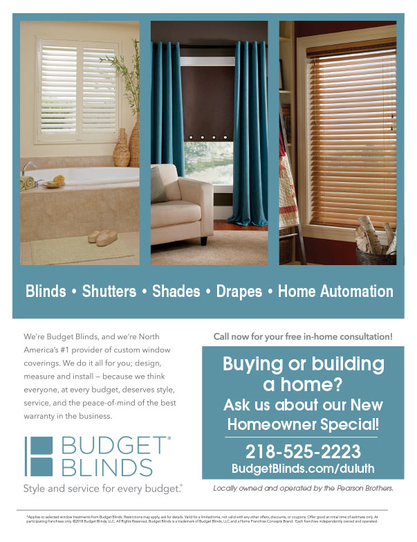 Budget Blinds We-Prints Plus Newspaper Insert brought to you by Any Door Marketing