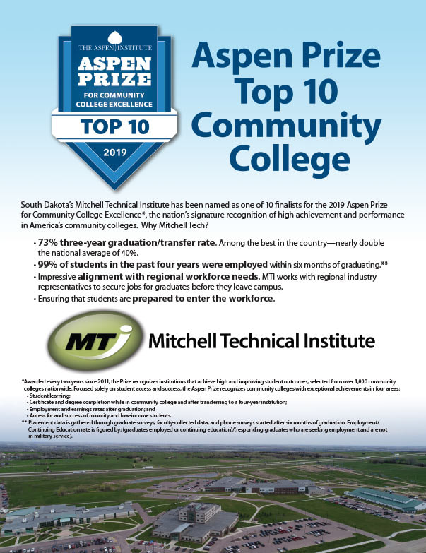 Mitchell Technical Institute We-Prints Plus Newspaper Insert brought to you by Any Door Marketing