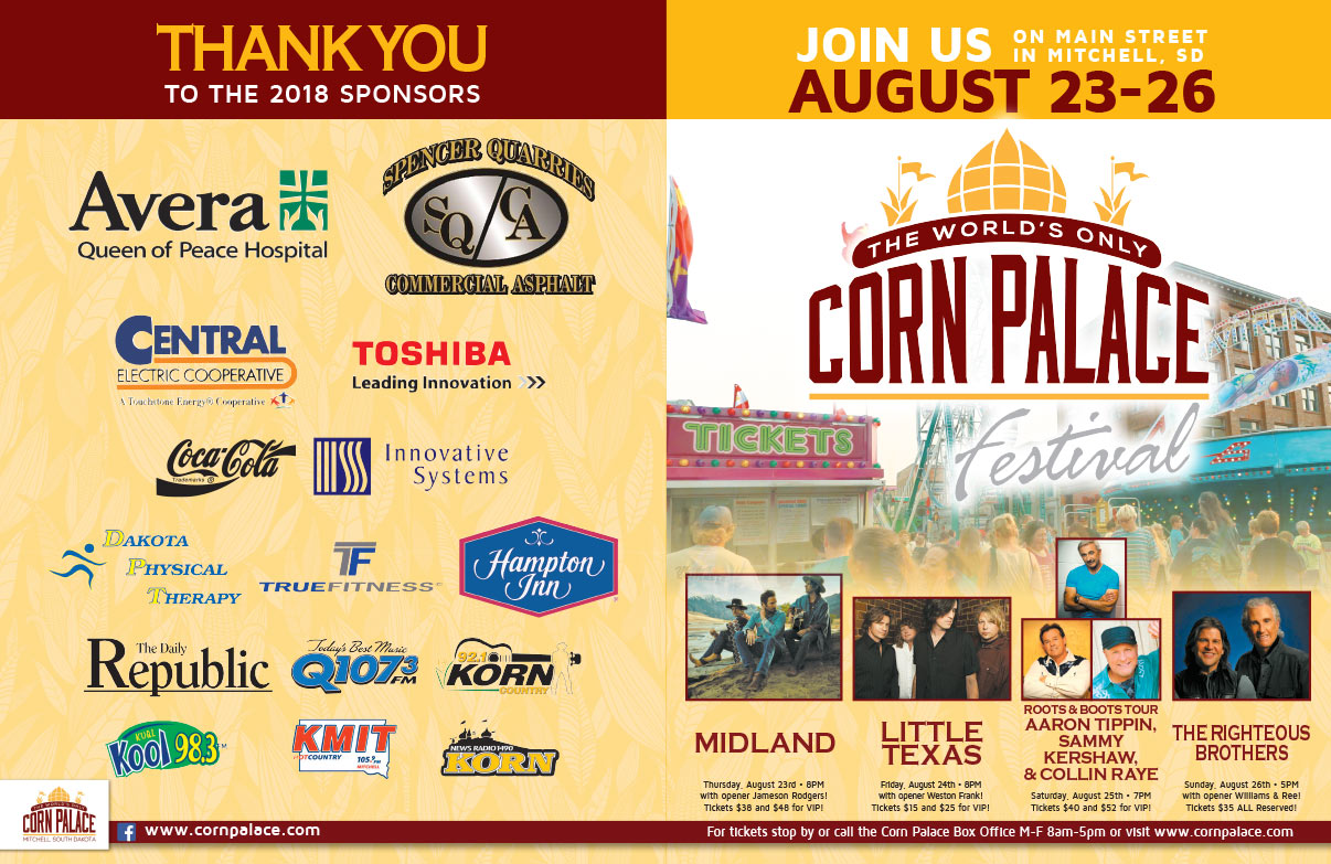 Mitchell Corn Palace We-Prints Plus Newspaper Insert brought to you by Any Door Marketing