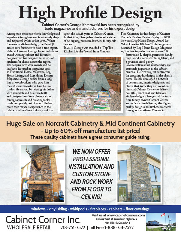 Cabinet Corner We-Prints Plus Newspaper Insert brought to you by Any Door Marketing