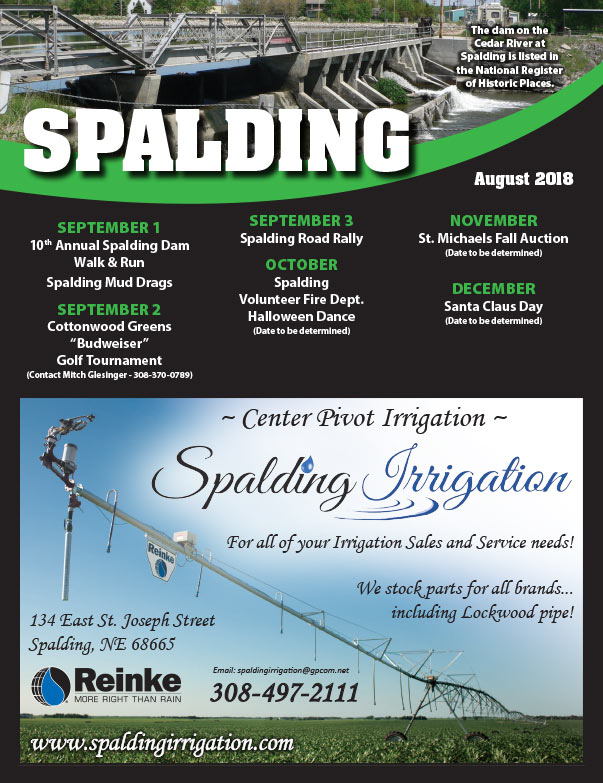 Spalding Community Events We-Prints Plus Newspaper Insert brought to you by Any Door Marketing