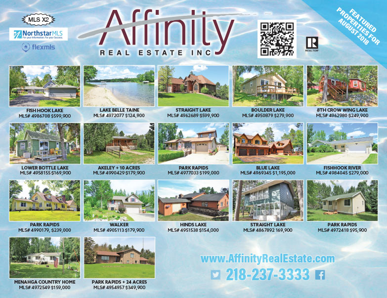 Affinity Real Estate We-Prints Plus Newspaper Insert brought to you by Any Door Marketing