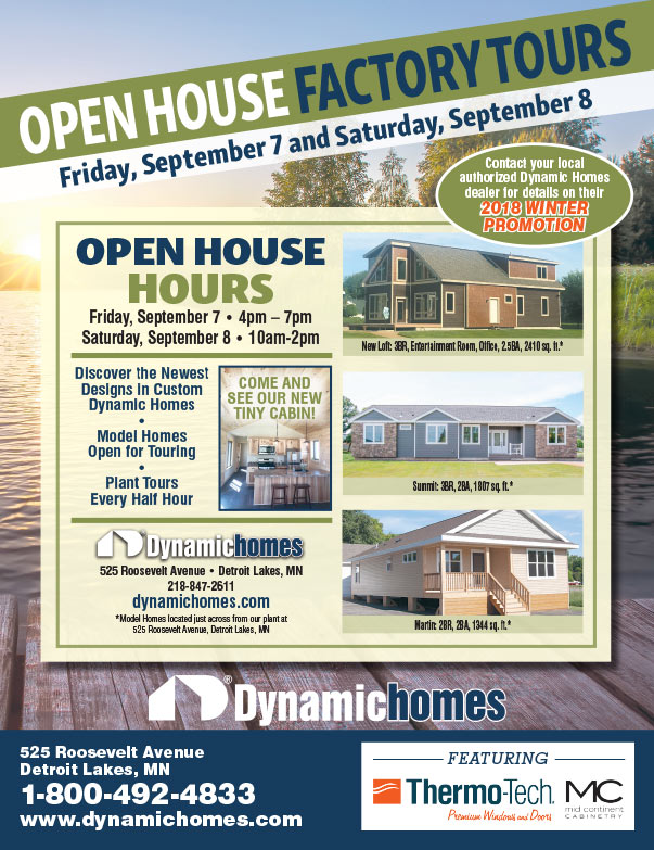 Dynamic Homes We-Prints Plus Newspaper Insert brought to you by Any Door Marketing