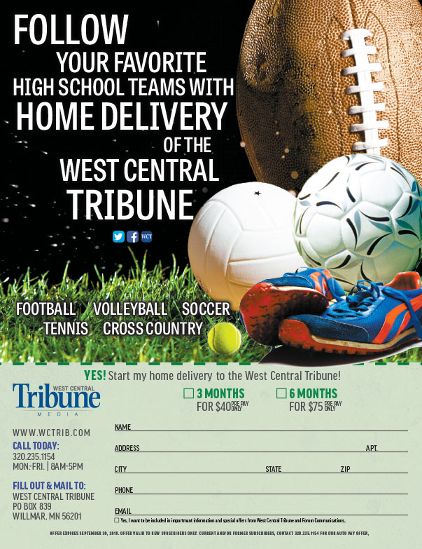 West Central Tribune We-Prints Plus Newspaper Insert printed by Any Door Marketing