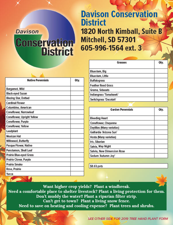 Davison Conservation District We-Prints Plus Newspaper Insert printed by Any Door Marketing