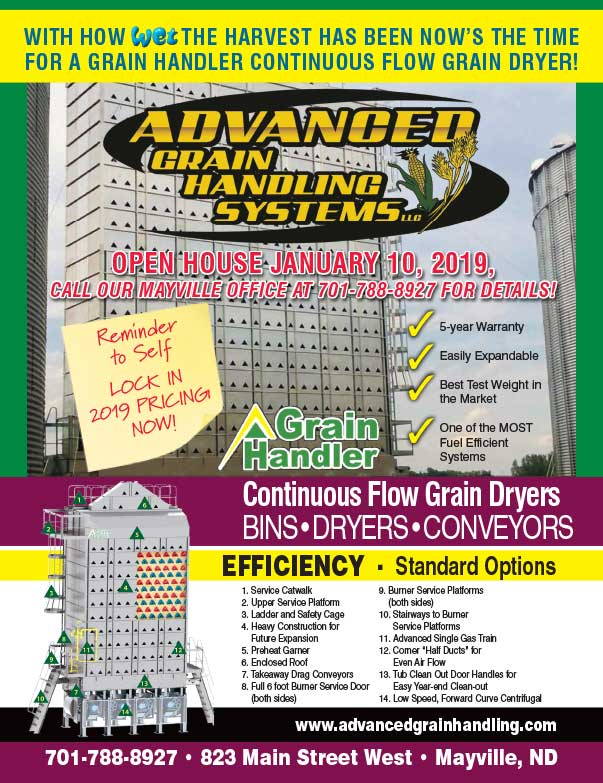 Advanced Grain Handling Systems We-Prints Plus Newspaper Insert Printed by Any Door Marketing