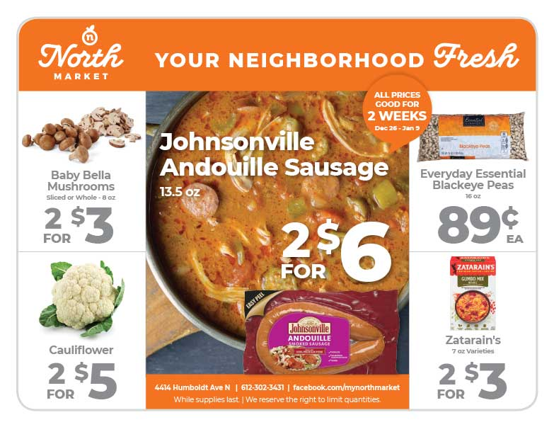 North Market We-Prints Plus Newspaper Insert Printed by Any Door Marketing