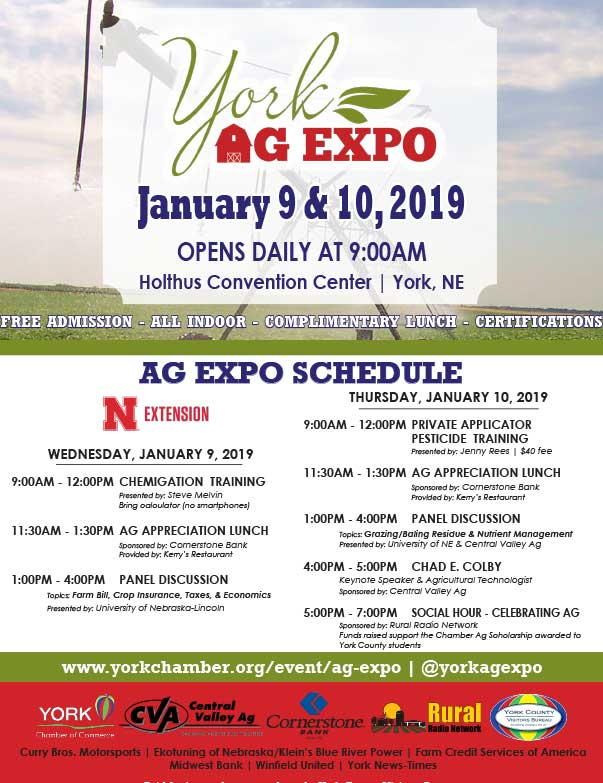 York Ag Expo We-Prints Plus Newspaper Insert printed by Any Door Marketing