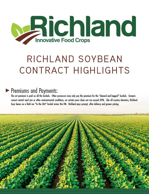 Richland Innovative Food Corps We-Prints Plus Newspaper Insert printed by Any Door Marketing