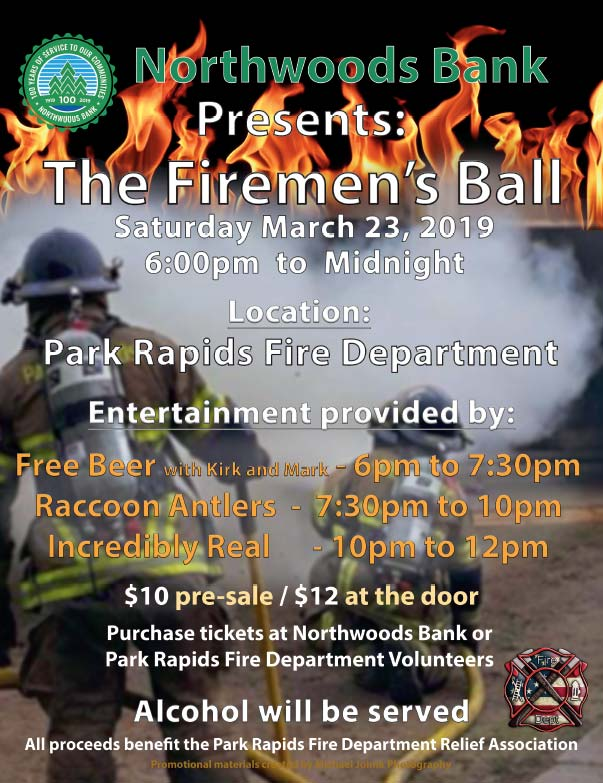 Park Rapids Firemens Ball We-Prints Plus Newspaper Insert printed by Forum Communications Printing