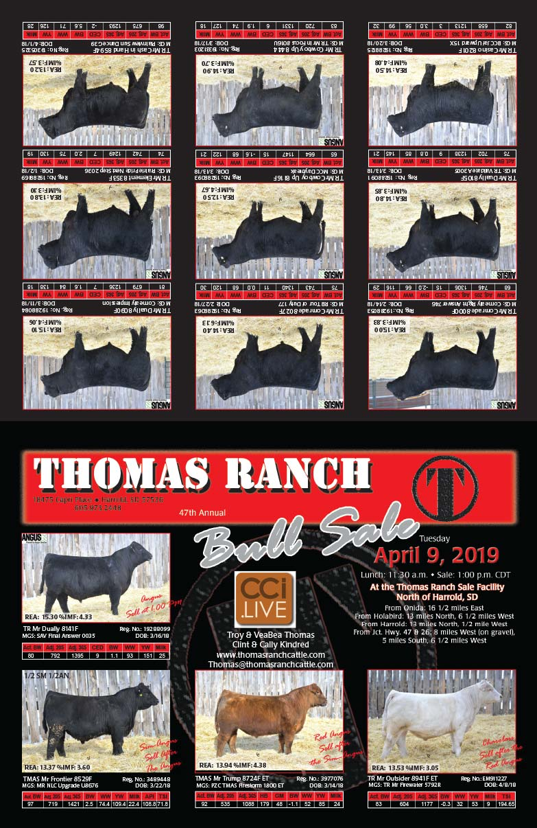 Thomas Ranch We-Prints Plus Newspaper Insert printed by Forum Communications Printing