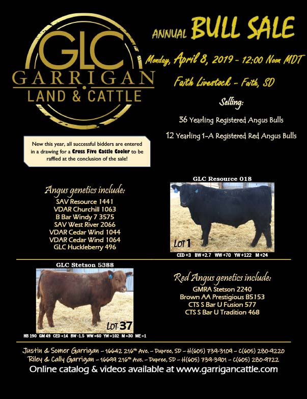 Garrigan Land and Cattle We-Prints plus Newspaper Insert printed by Forum Communications Printing