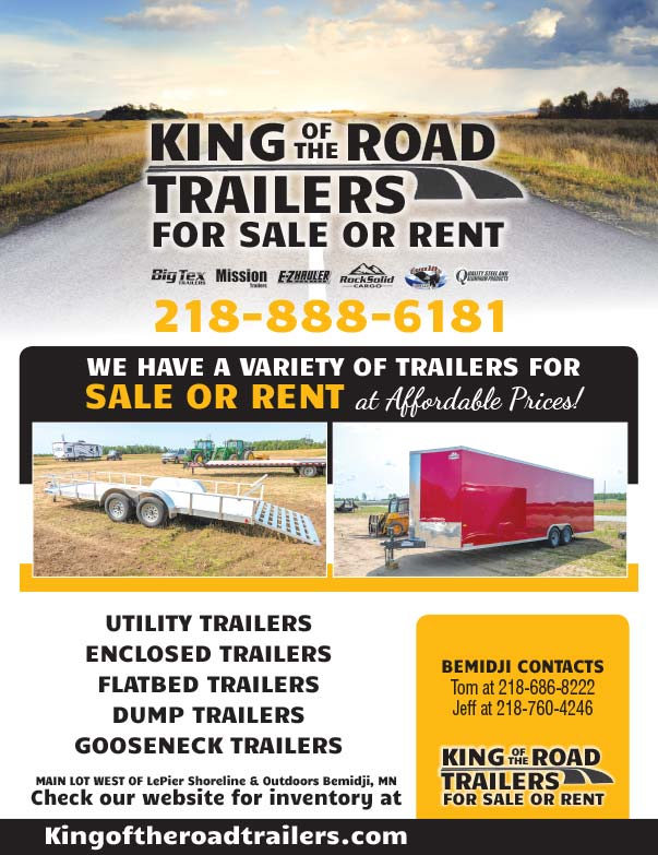 King of the Road Trailers We-Prints plus Newspaper Insert printed by Forum Communications Printing