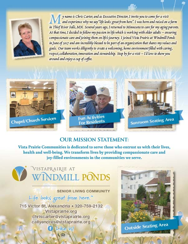 Vista Prairie at Windmill Ponds We-Prints plus Newspaper Insert printed by Forum Communications Printing