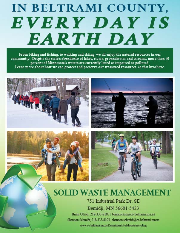 Beltrami County Solid Waste Management We-Prints Plus Newspaper Insert printed by Forum Communications Printing