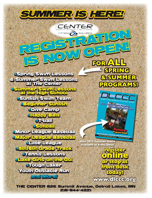 The Center of Detroit Lakes We-Prints Plus Newspaper Inserts printed by Forum Communications Printing