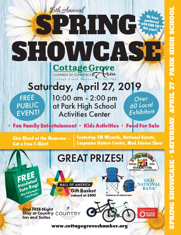 Cottage Grove Spring Showcase We-Prints Plus Newspaper Insert printed by Forum Communications Printing